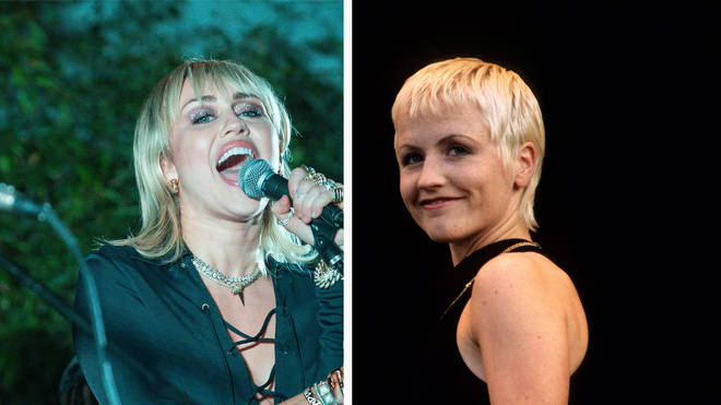 Miley Cyrus and The Cranberries Dolores O'Riordan