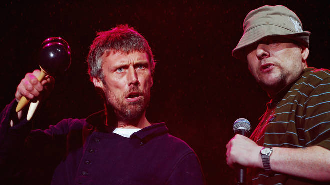 Happy Mondays Bez and Shaun Ryder at V- Fest 2007