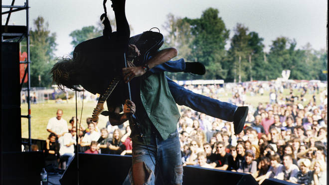 Nirvana, live in 1991