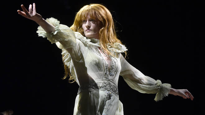Florence Welch live in 2018