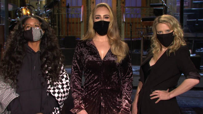Adele appears in promo for SNL