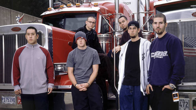 Linkin Park in 2001