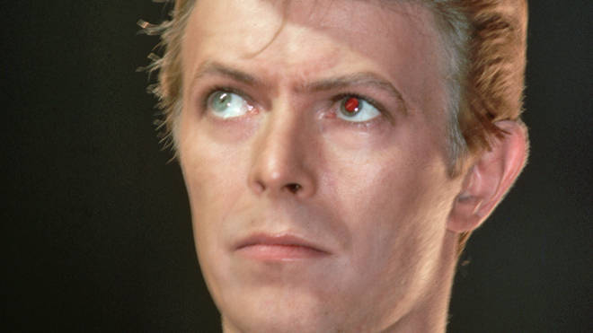 David Bowie onstage in 1978