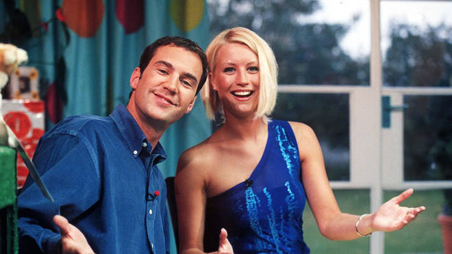Johnny Vaughan and Denise Van Outen in 1997, during the heyday of The Big Breakfast