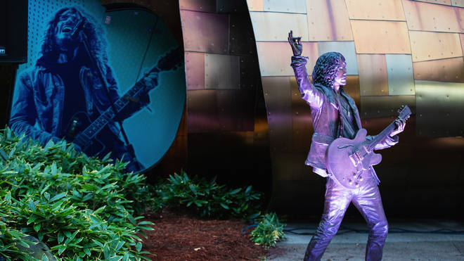 Chris Cornell statue in Seattle