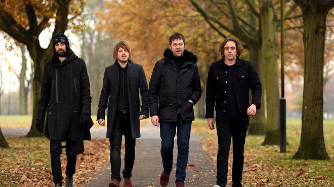 Kasabian in 2013: Serge Pizzorno, Chris Edwards, Tom Meighan and Ian Matthews