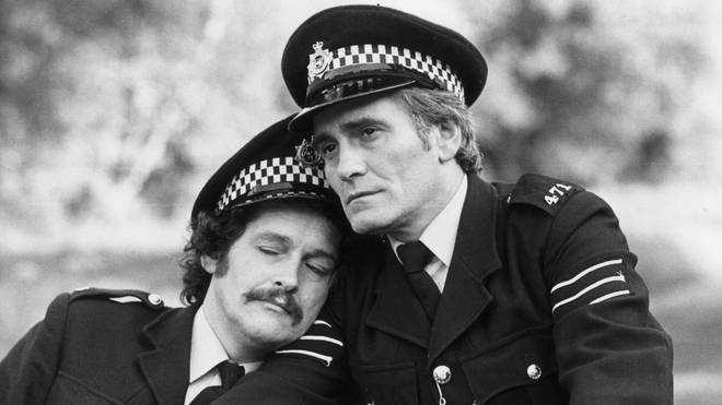 Tommy Cannon and Bobby Ball in their feature film, The Boys In Blue (1982)