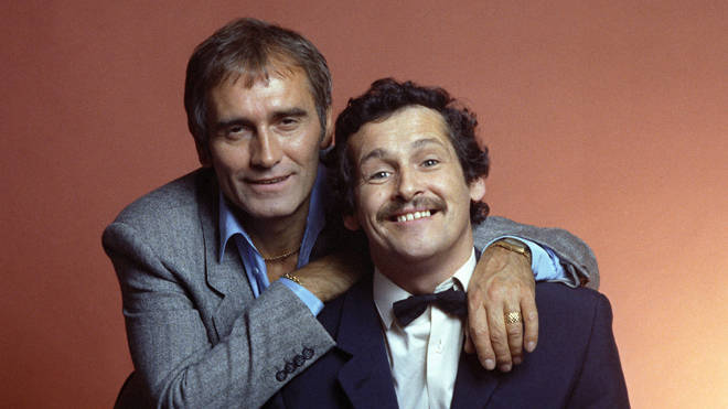 Cannon And Ball, launching series 2 of their Saturday night ITV show in 1980