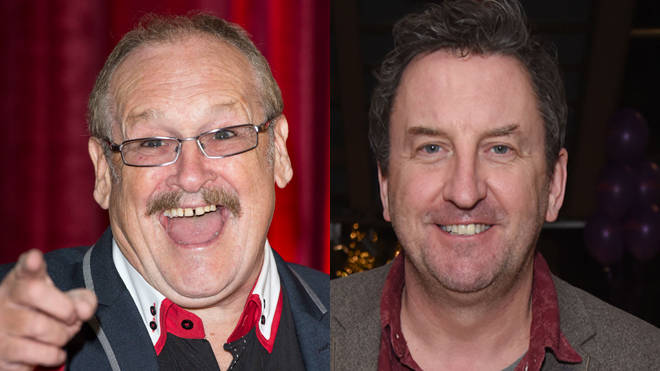 Bobby Ball and Lee Mack
