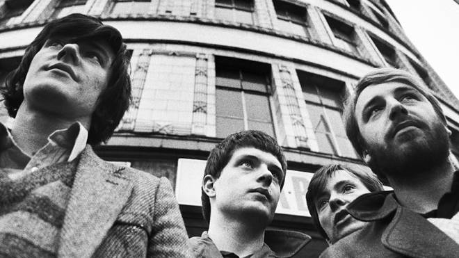 Joy Division in January 1979 by Kevin Cummins