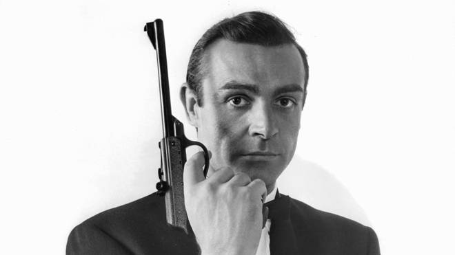 Sean Connery as James Bond in 1963's From Russia With Love