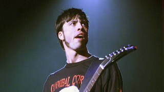 Dave Grohl at Foo Fighters' Y100 Radio Show in 1999