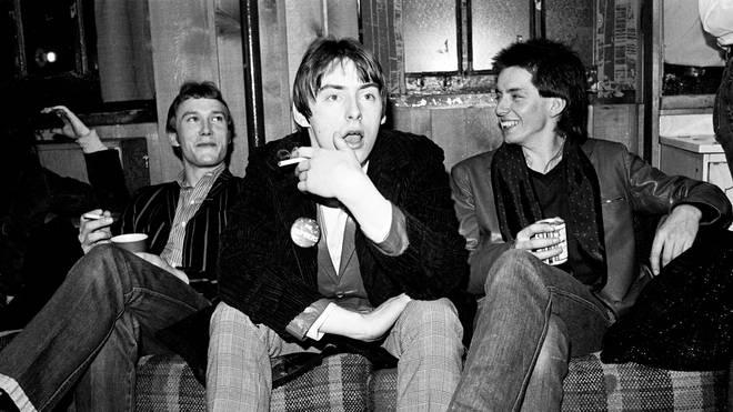 The Jam In New York, 1979:  Rick Buckler, Paul Weller, Bruce Foxton