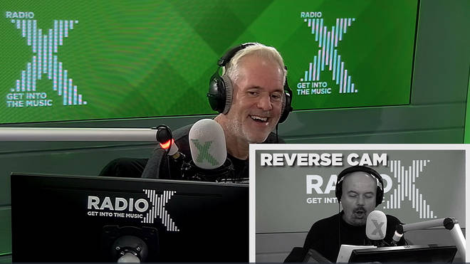 Chris Moyles Show laughs at the reverse words game