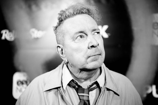 John Lydon arrives at the premiere Of Epix's Punk