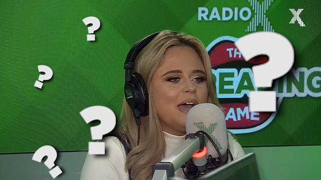 Emily Atack plays the Lip Reading Game on The Chris Moyles Show