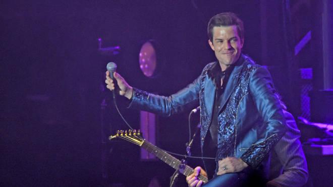 The Killers' Brandon Flowers at 2019 Forecastle Festival