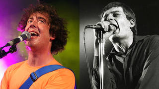 Murph of The Wombats in 2007 and Ian Curtis of Joy Division in 1979