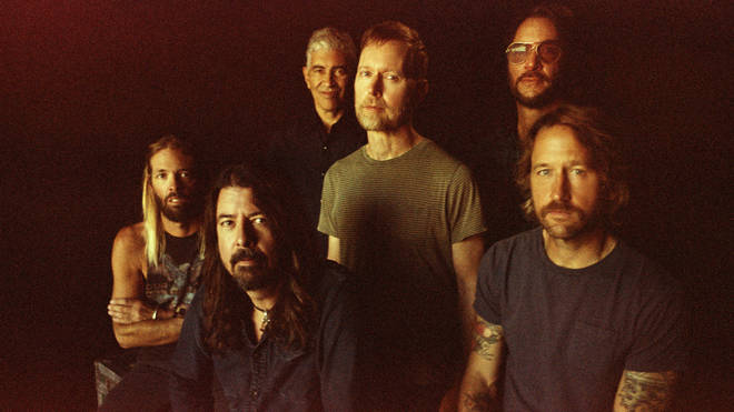 Foo Fighters in 2020