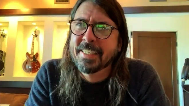 Dave Grohl talks to Radio X's George Godfrey