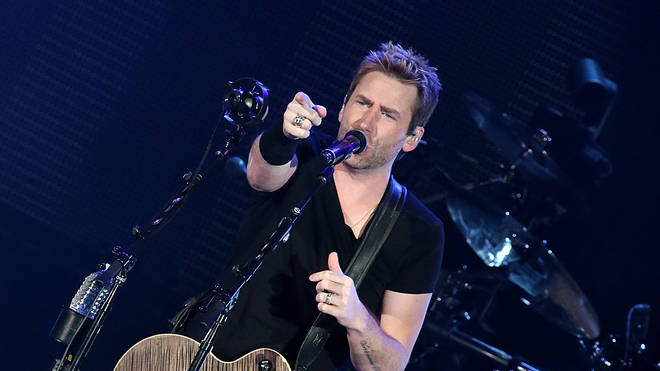 Nickelback's Chad Kroeger performs at the Austin360 Amphitheater in 2015