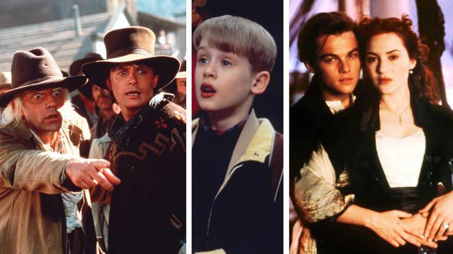 Back To The Future III, Home Alone 2, Titanic