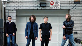 The Killers in 2008: Ronnie Vannucci Jr, Dave Keuning, Brandon Flowers and Mark Stoermer