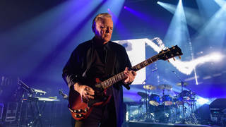 Bernard Sumner of New Order performs on stage during their Miami Residency at The Fillmore Miami Beach at the Jackie Gleason Theater on January 15 2020 i