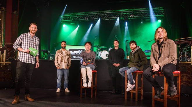 Toby Tarrant interviews Nothing But Thieves at our Radio X Presents gig with Barclaycard