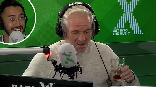 Chris Moyles tries Matt Parkes-Smith's homemade beer