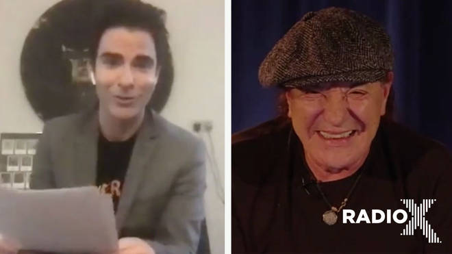 Kelly Jones interviews AC/DC's Brian Johnson