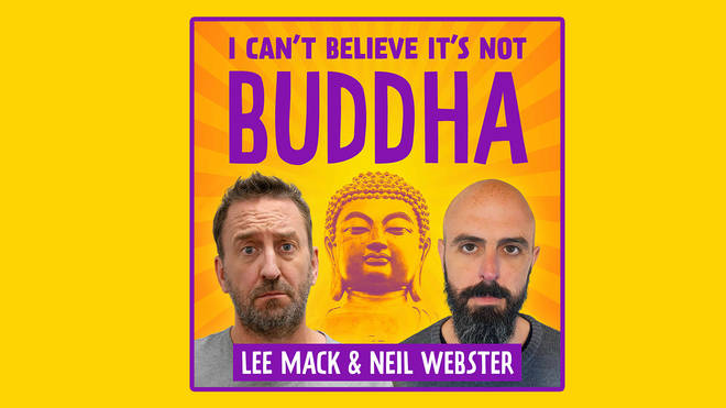 Lee Mack and Neil Webster almost had a book proposal from their podcast