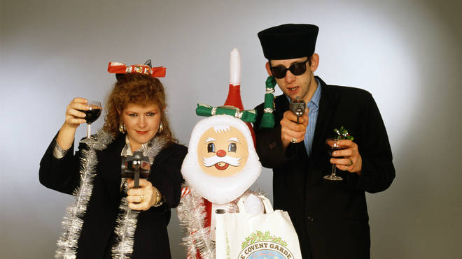 The late Kirtsy MacColl and The Pogues' Shane MacGowan