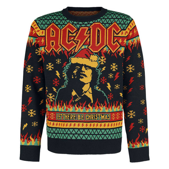 AC/DC Christmas jumper