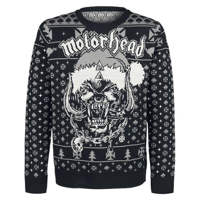 Motorhead Christmas jumper