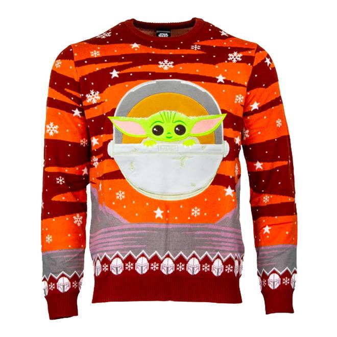 Baby Yoda Christmas jumper