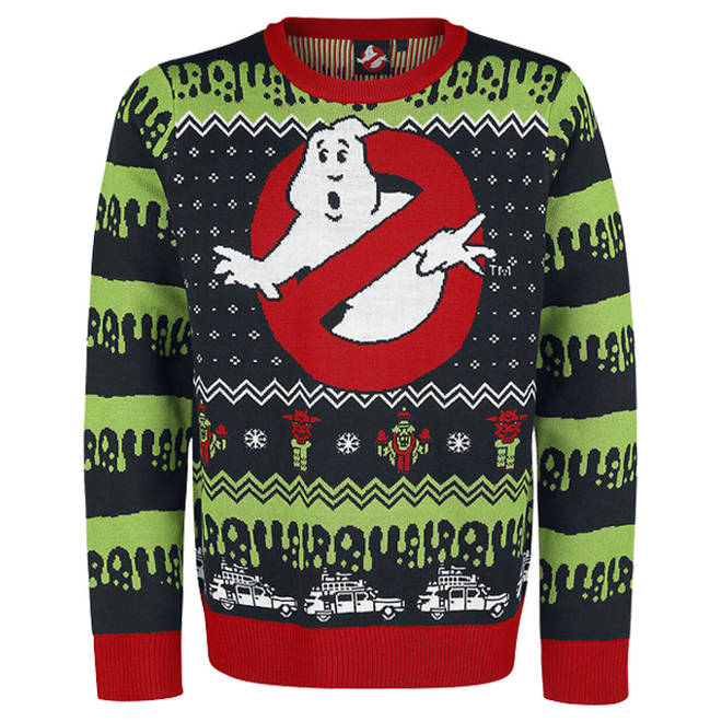 Ghostbusters Christmas jumper