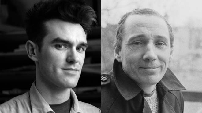 Morrissey of The Smiths and Michael Fagan, the man who broke into The Queen's bedroom