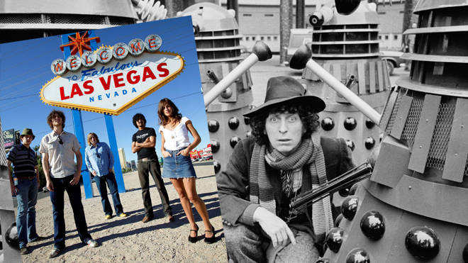 Tom Baker meets The Daleks... and a mystery indie band
