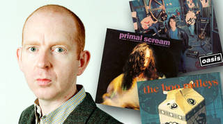 Alan McGee, co owner Creation Records label