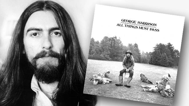 George Harrison and his solo album All Things Must Pass