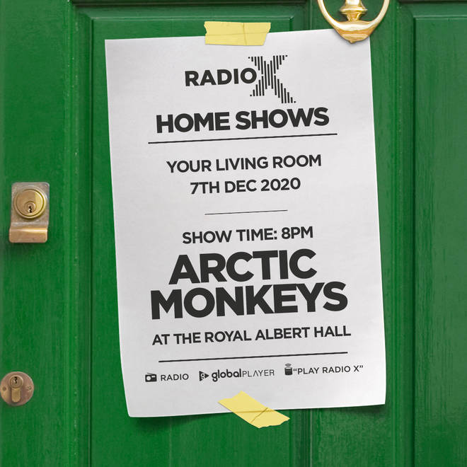 Listen to Arctic Monkeys' Royal Albert Hall gig in Radio X Home Shows