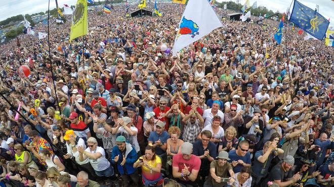Glastonbury Festival Crowd 2017