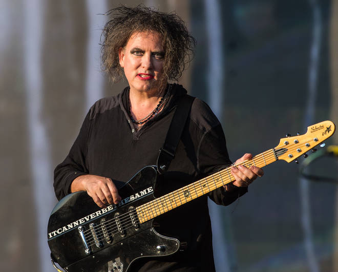 Robert Smith of The Cure at Hyde Park on 7 July 2018