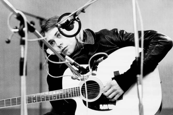 Kurt Cobain, recording in Hilversum Studios in November 1991