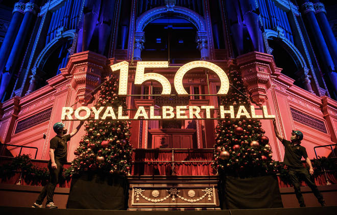 The Royal Albert Hall announces 150th anniversary plans