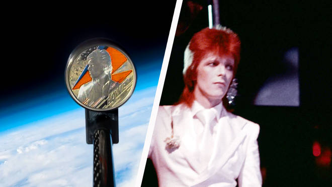The Royal Mint's David Bowie commemorative coin is launched into space