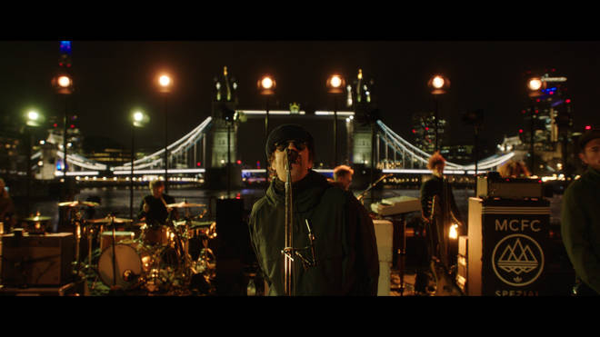 Liam gallagher plays Down By The River Thames live stream gig