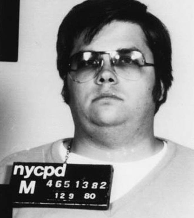 Mark Chapman: the man who killed John Lennon, pictured after his arrest in the early hours of 9 December 1980