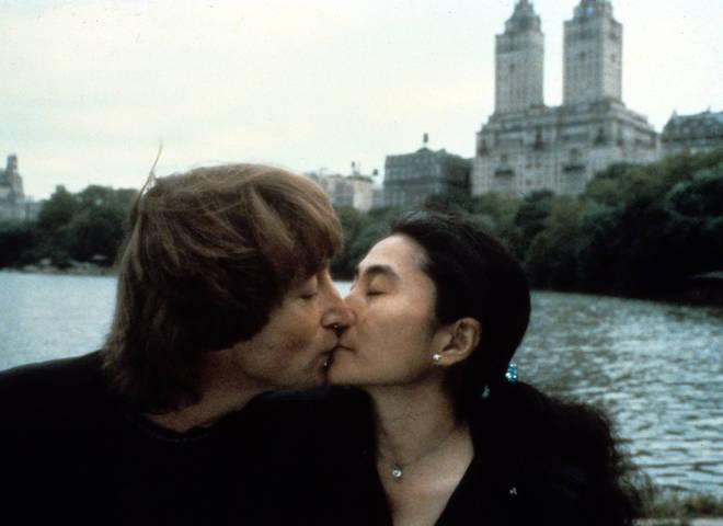 John and Yoko in New York